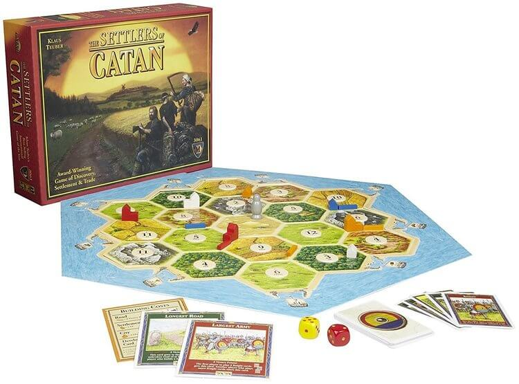settlers of catan best board games