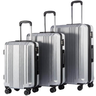 photo: courtesy coolife luggage via amazon