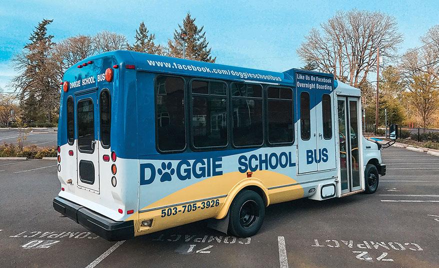 PHOTO: COURTESY DOGGIE SCHOOL BUS VIA FACEBOOK