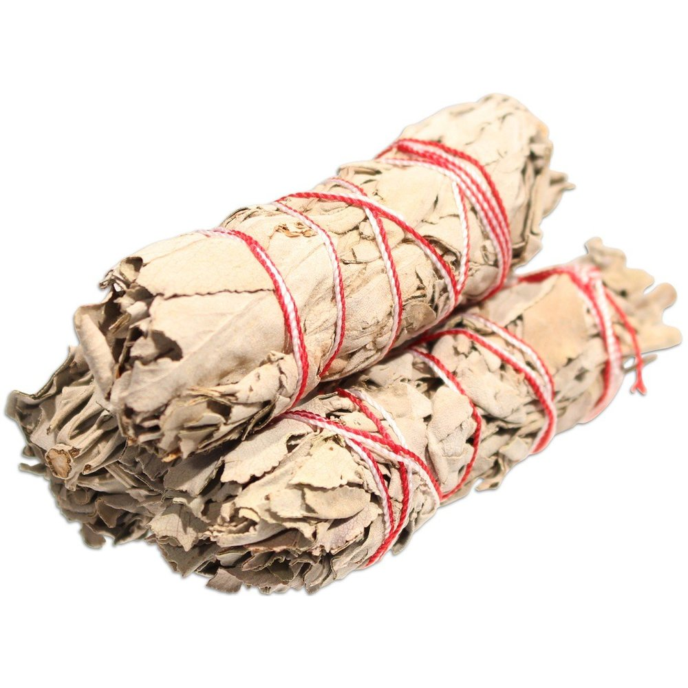 Roll over image to zoom in Organic California White Sage Smudge, $9, Amazon