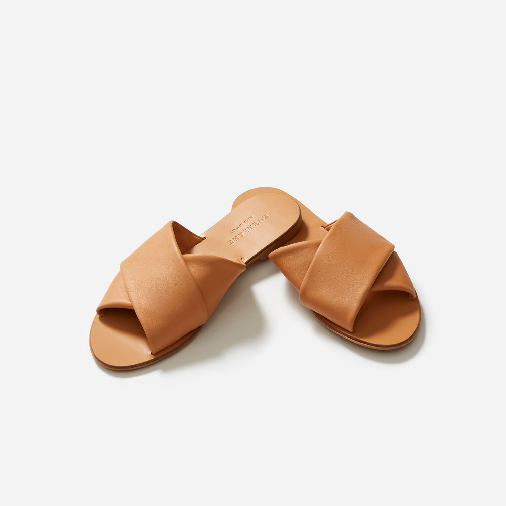 The Day Crossover Sandal, $88, Everlane