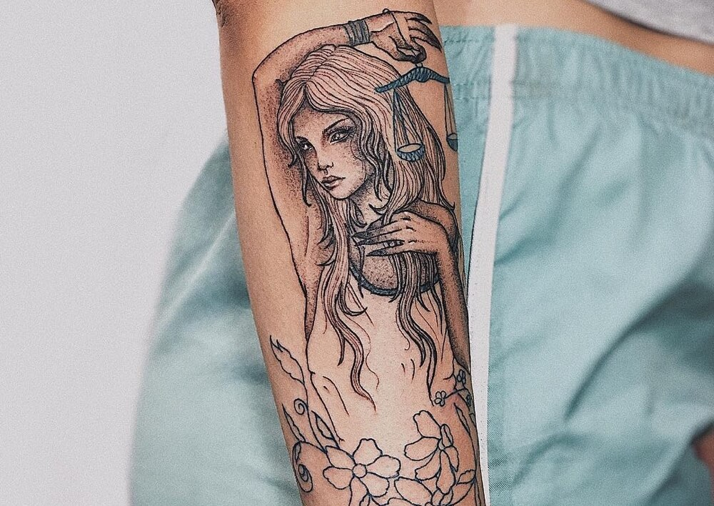 25 Libra Tattoos Perfect For The Cool Charming Zodiac Sign