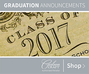 Graduation Announcement Invitations from Carlson Craft