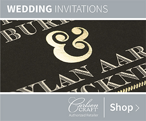 Wedding Invitations from Carlson Craft