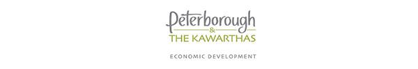 Copy of Copy of Peterborough & the Kawarthas Economic Development logo