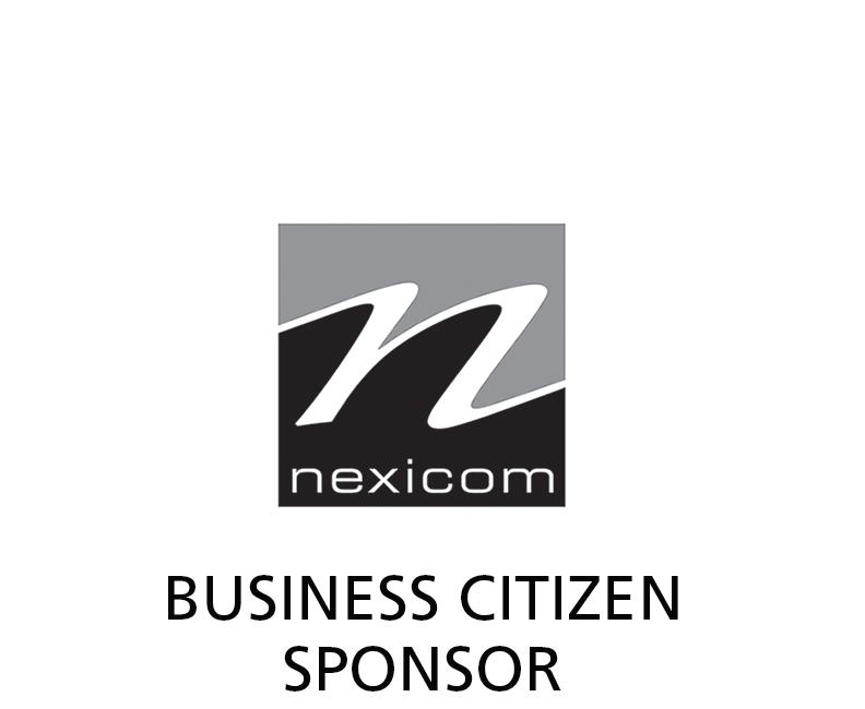 Nexicom logo - BW - Business Citizen Sponsor label.png