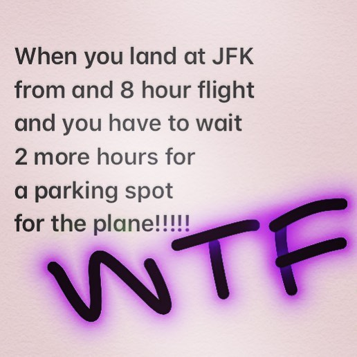 #landed #waiting #bored #wtf