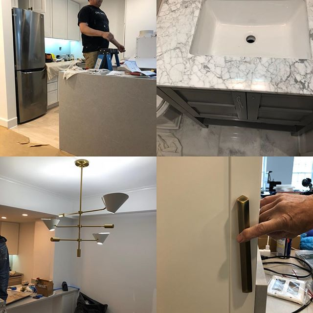 Last stages of the bachelor pad renovations!!! Almost done! #renovations #bachelorpad #rejuvination #almostdone #restorationhardware
