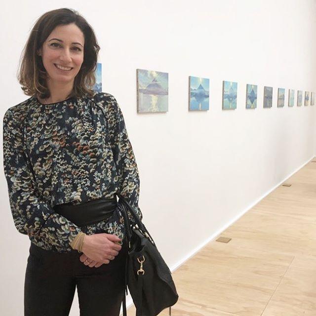 Supporting Swiss artist Jean-Frederique Schnyder #evapresenhuber #Schnyder #artopening #swiss #art
