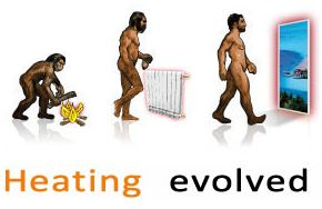 heating evolved