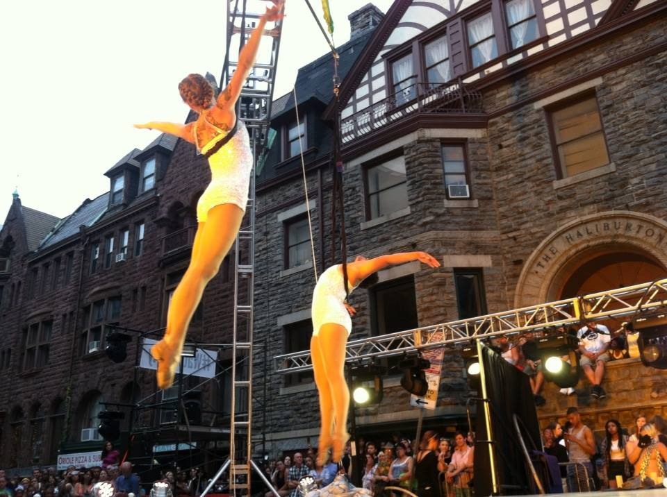 Flying Aerialists