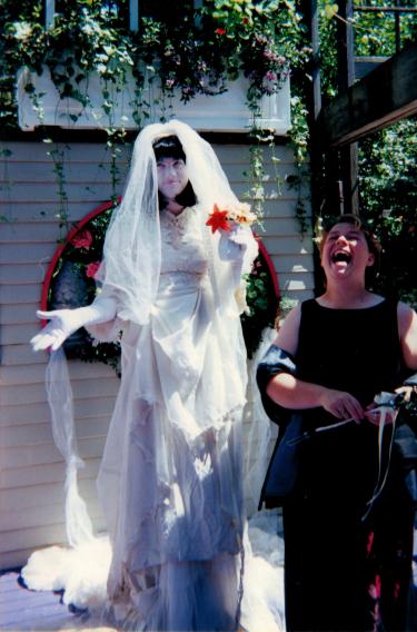 """Molly e a """"Noiva"""", meu casamento - July 2000"""
