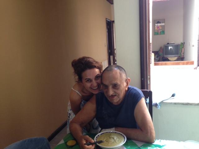 Eu e meu pai em Novembro de 2014