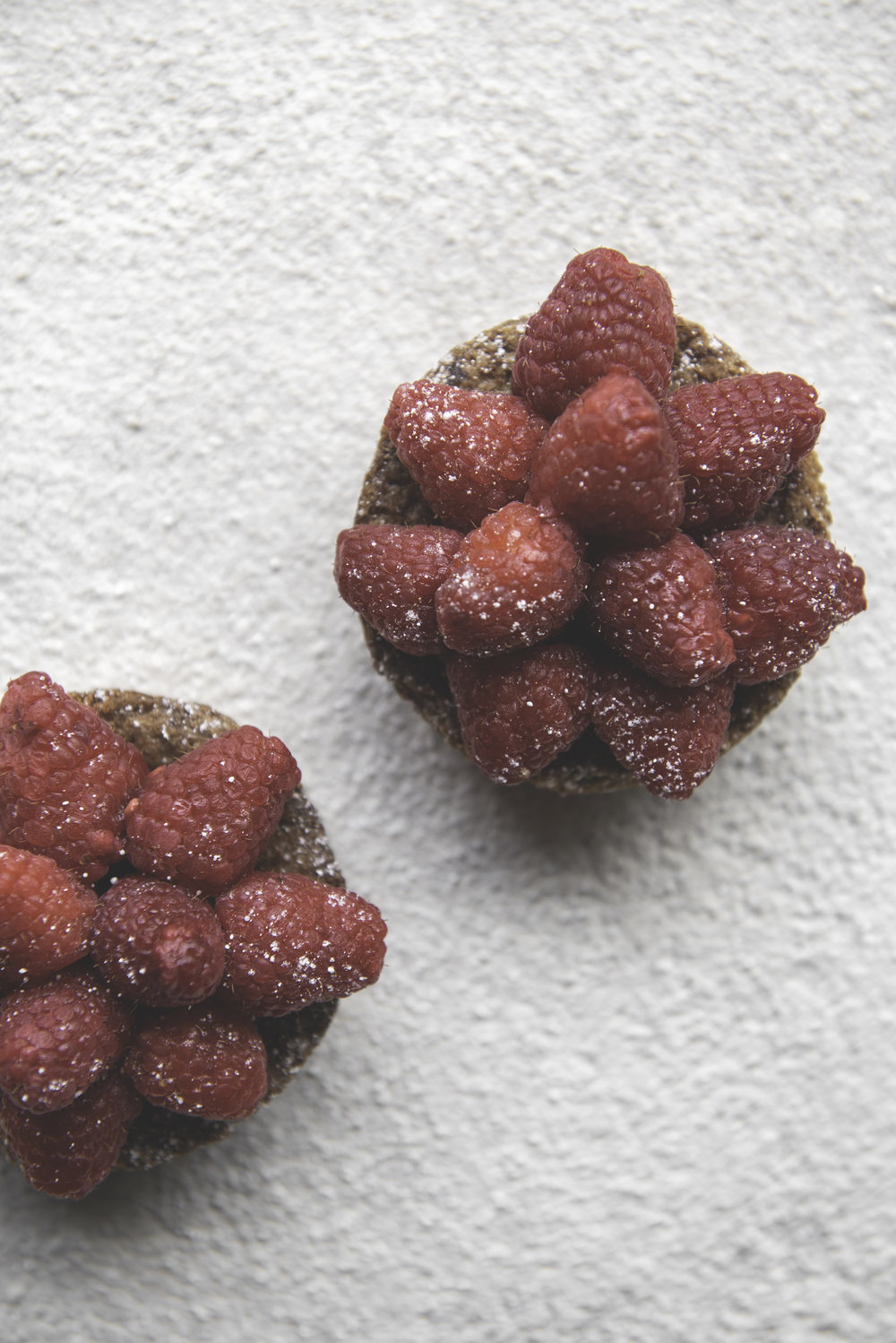Raspberry Tart - Fresh raspberries sit atop a salty, brown-butter filling with a classic sucree shell. We love this treat for its minimalism, yet it doesn't skimp on the flavor.