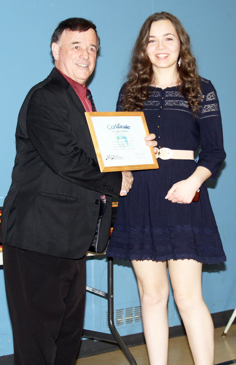 Goulds Youth awards.JPG