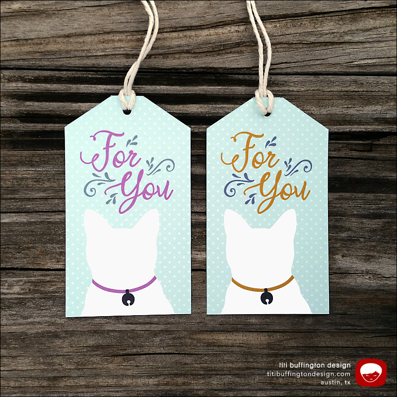 Gift Tags Titi Buffington Graphic Designer Letterer
