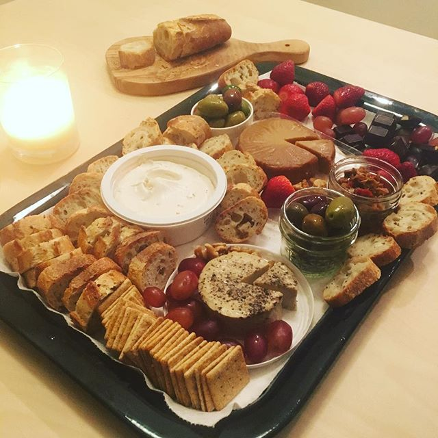 nutcheese plate! ❤️ . . #veganfoodshare #veganchesse #vegabonding #prebdaycelebrations #vegannutcheese