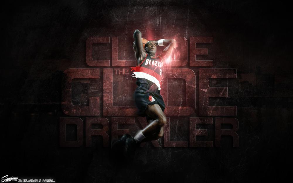 """Clyde """"The Glyde"""" Drexler"""