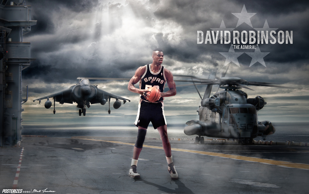 "David ""The Admiral"" Robinson"