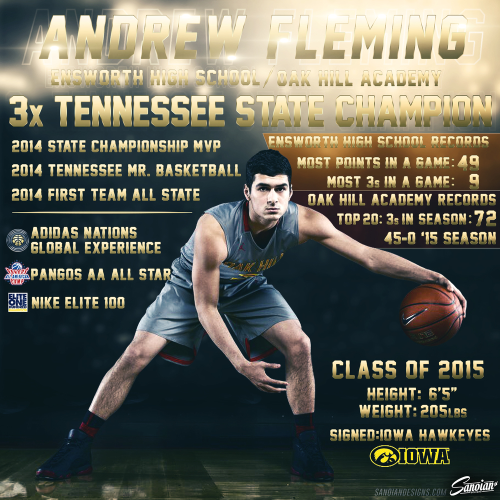 Andrew Fleming - Oak Hill Academy