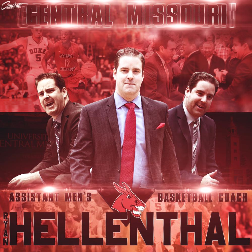 Coach Hellenthal - Central Missouri Men's Basketball Assistant Coach