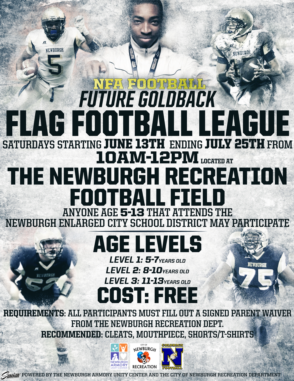 Future Goldback Flag Football League