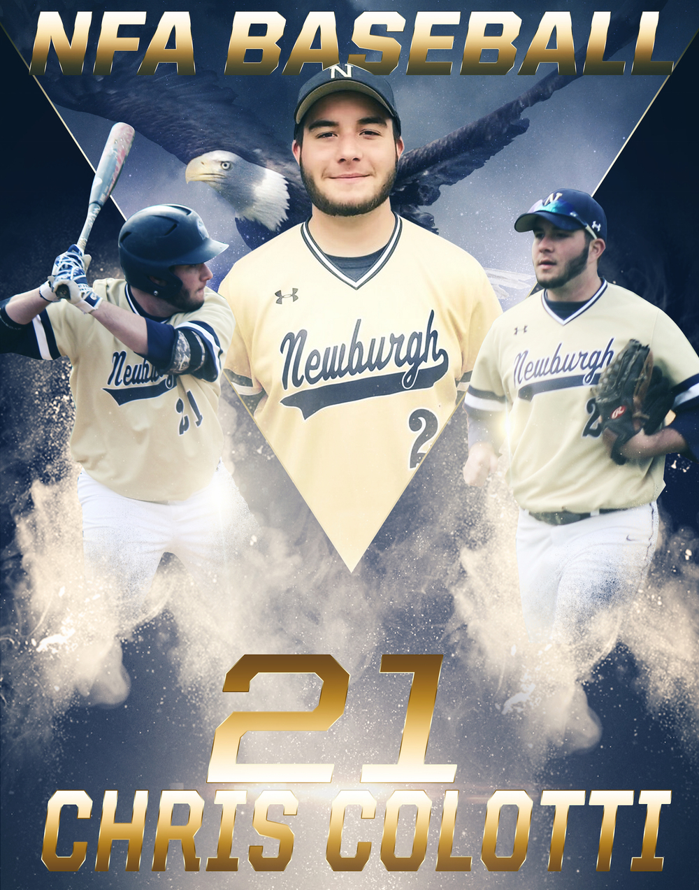 Chris Colotti - Goldbacks Baseball