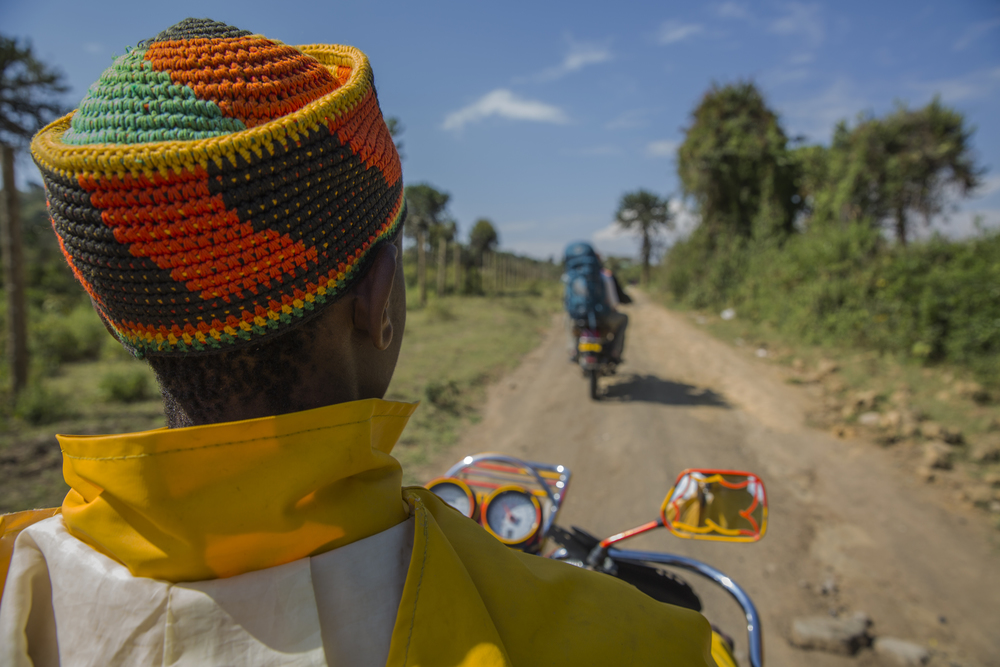 Motorbikes, or boda bodas as their colloquially known in Eastern Africa, make up roughly 70 percent of motor vehicles in Kenya. However, tourists are advised against riding on them due difficulties in safety regulation and that many boda boda operators are reported to be drunk.