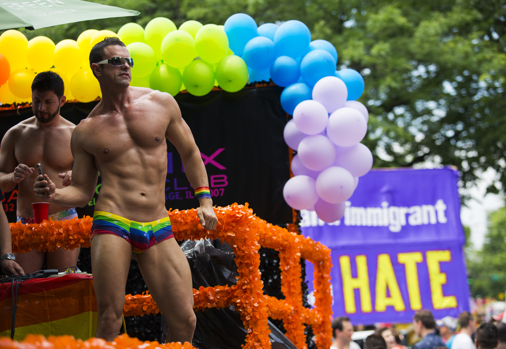 Chicago's Pride Parade is one of the largest in the world, and offers both participants and spectators the opportunity to express their sexuality without fear of hate. Despite recent strides in protecting LBGTQ rights, many in this community hold onto the fear that they may be persecuted or lose employment because of their sexuality.