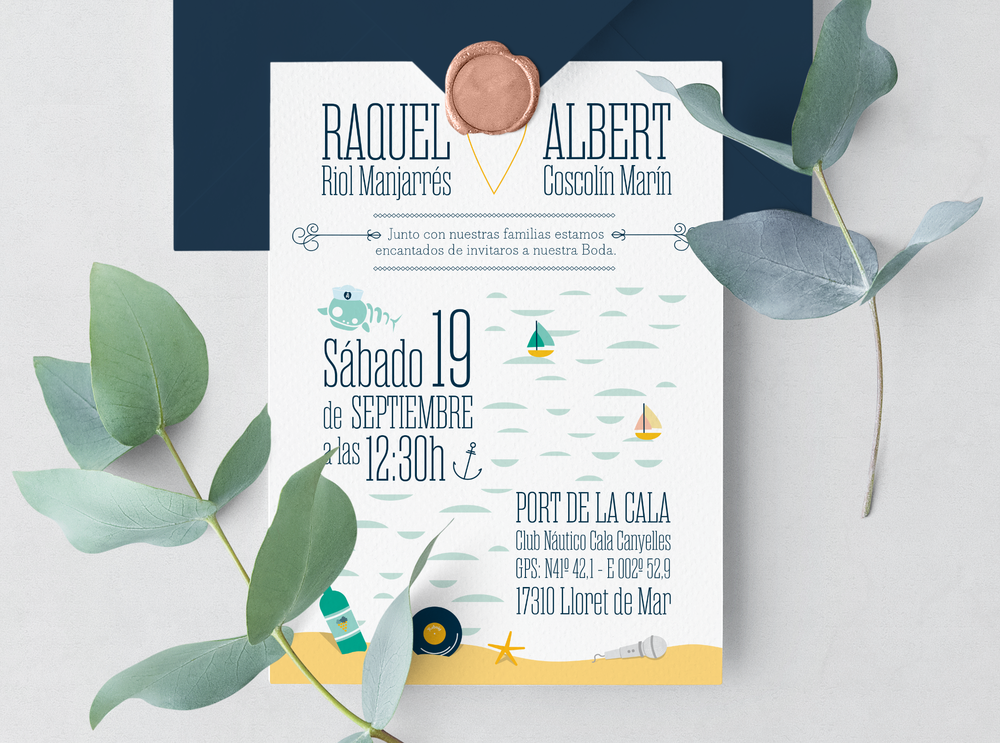 Wedding Invitation Front