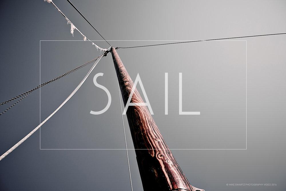 sail wall print