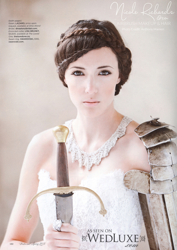 Published in WedLuxe Anthony Maneri