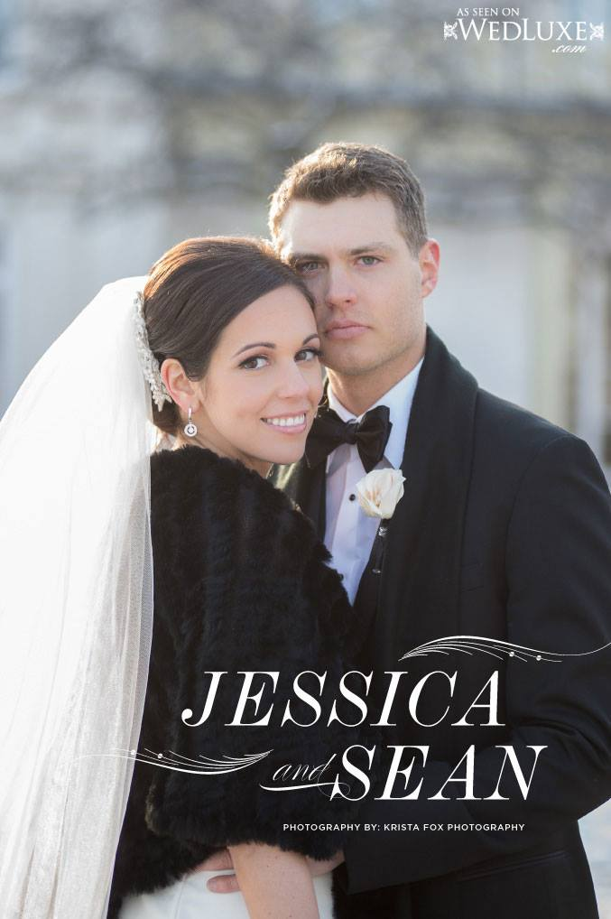 JESSICA & SEAN - WEDLUXE MAGAZINE
