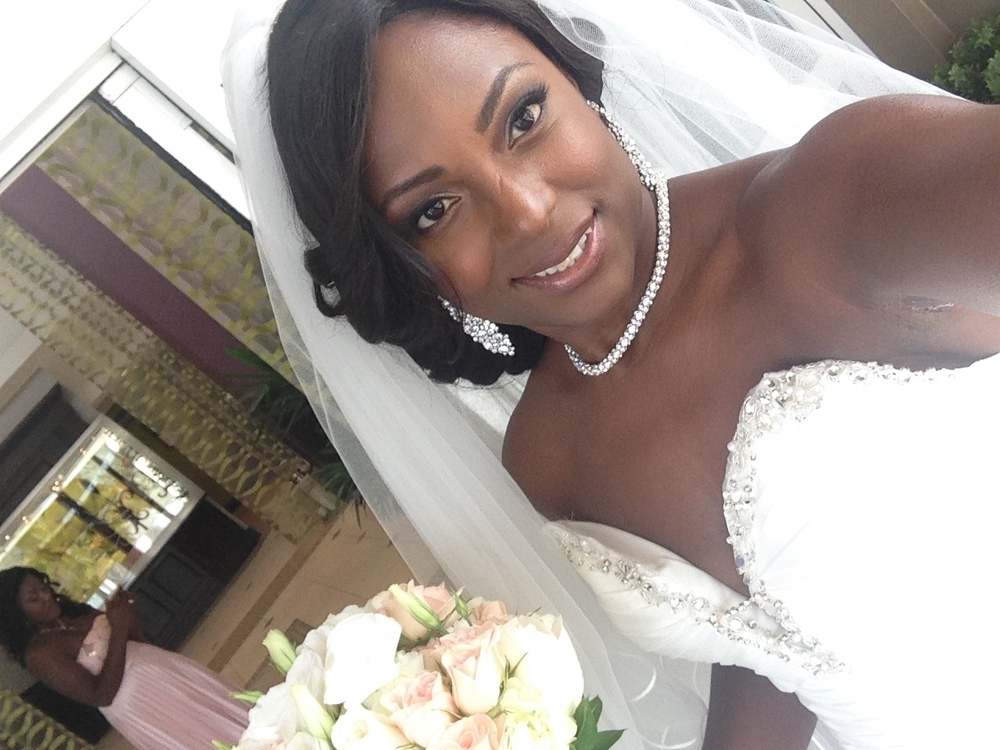 KIM Hi Nicole, Thank you again for making me extra beautiful on my wedding day. The make - up was perfect, so natural. ! I will be sending a friend of mine who is getting married next year April  your way!