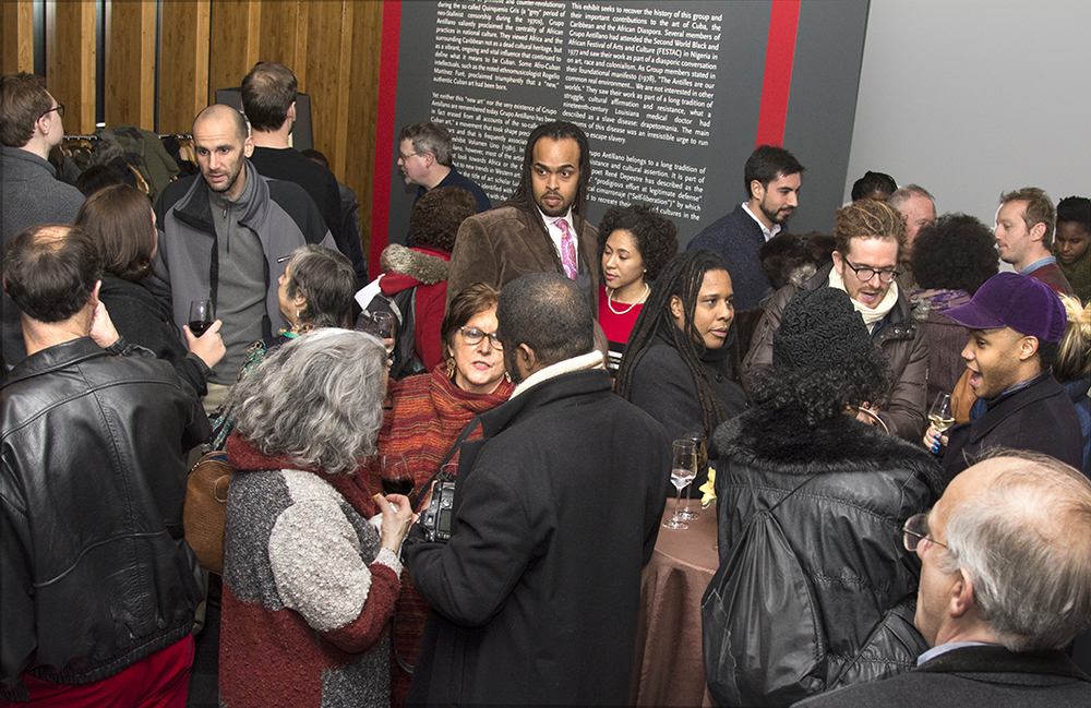 Spring Exhibition Opening 29 January 2015 Spring Exhibition Opening Reception celebrated the launch of Drapetomanía: Grupo Antillano and the Art of Afro-Cuba, curated by Alejandro de la Fuente.  On view 30 January – 29 May 2015.