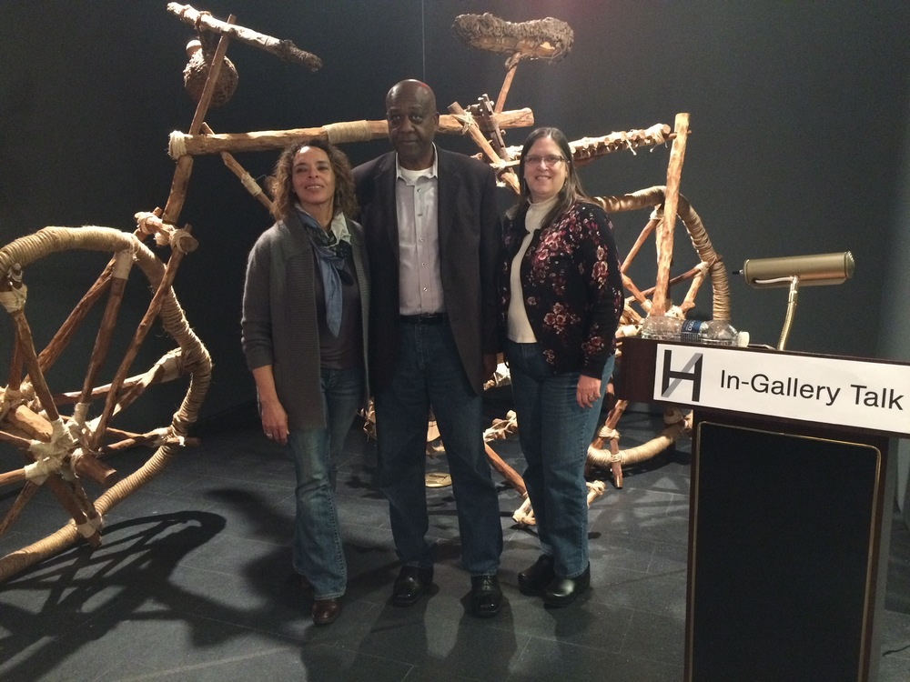 "The Bike 3 December 2014 Joseph Johnson shared his personal reflections on 12/3/14. What followed was a group discussion of individual extraordinary ""Bike Stories."" Part of a series of In/Gallery Talks, discussions taking place in the intimate spaces of the Cooper Gallery."