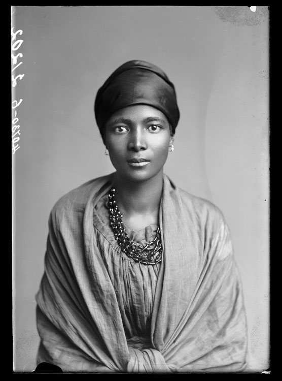 Eleanor Xiniwe ,  The African Choir..  London Stereoscopic Company, 1891. Courtesy of © Hulton Archive/Getty Images