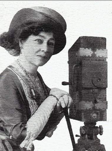 Alice Guy-Blaché (first female director & writer of narrative fiction films)