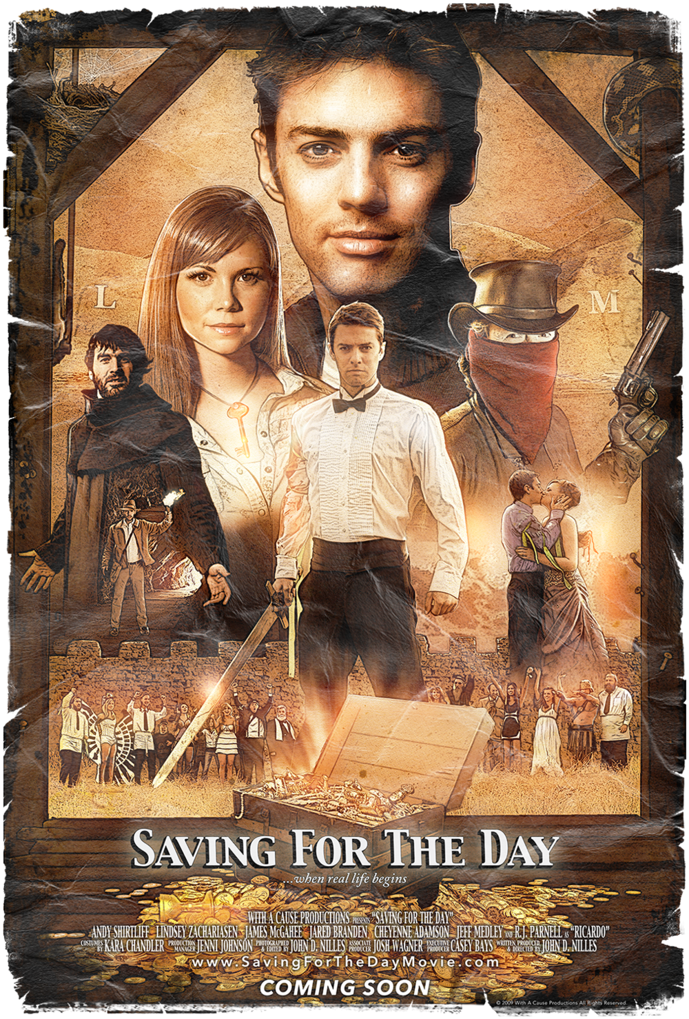Saving For The Day Movie Poster