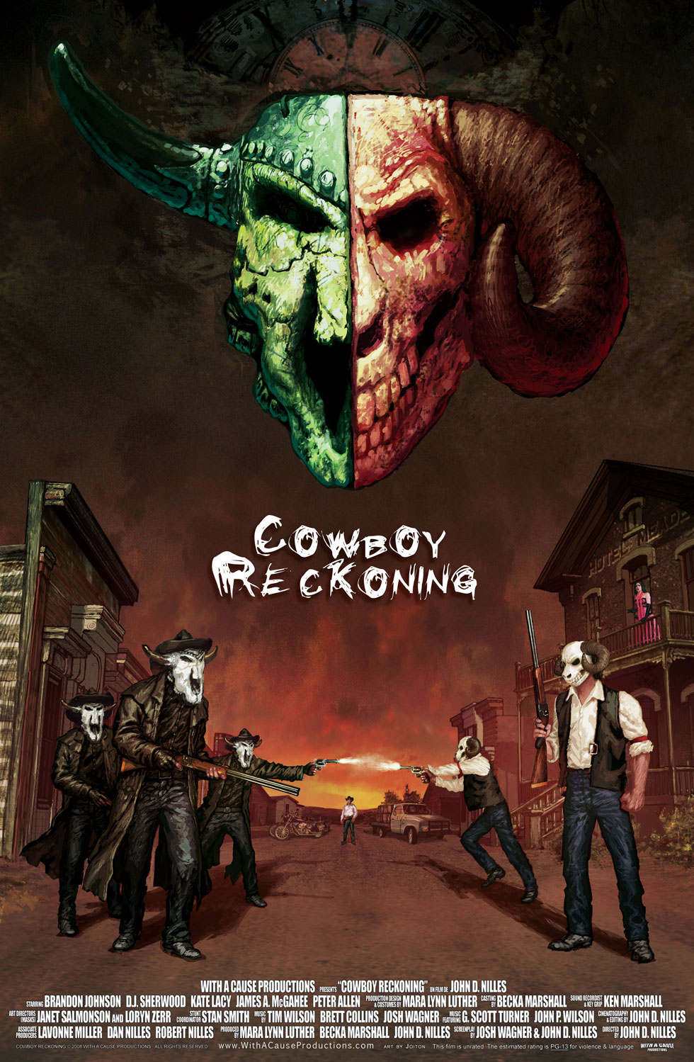 Cowboy Reckoning Western Movie Poster