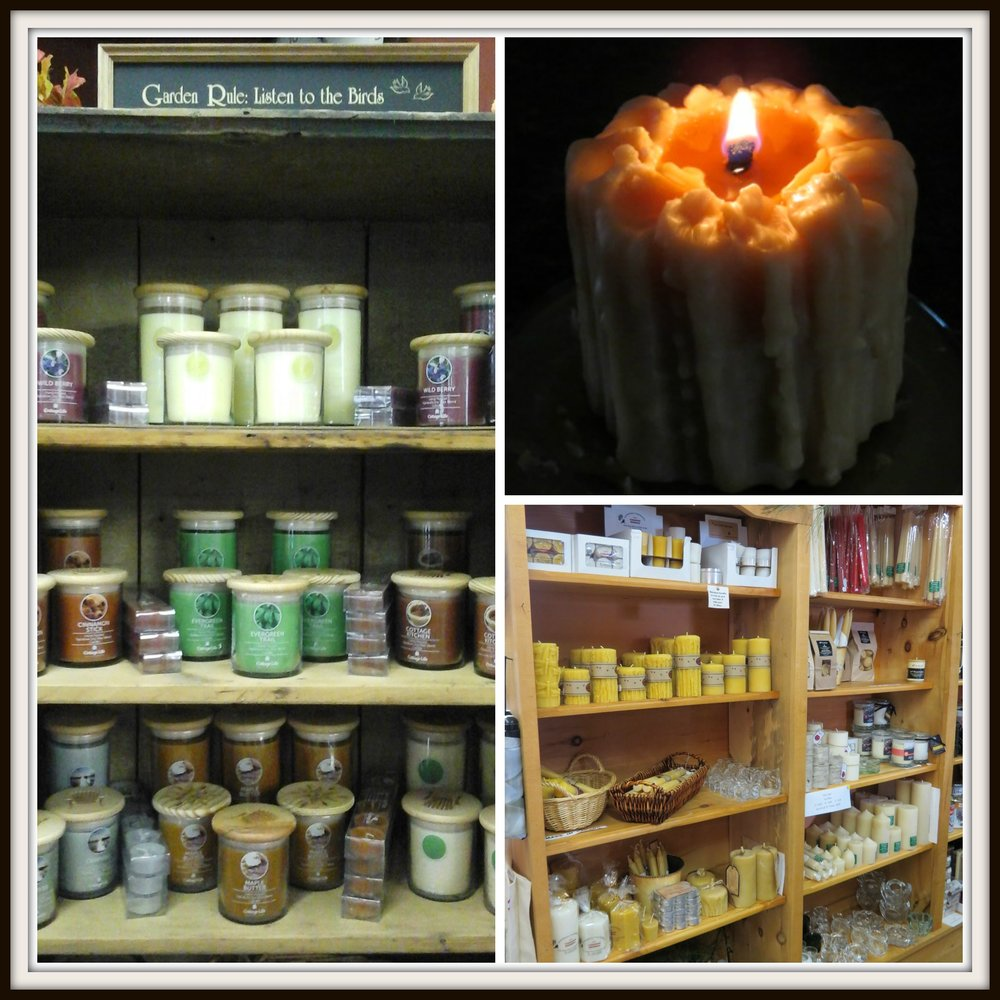 Soy Candles & Beeswax Candles available at Hyde Park Feed & Country Store