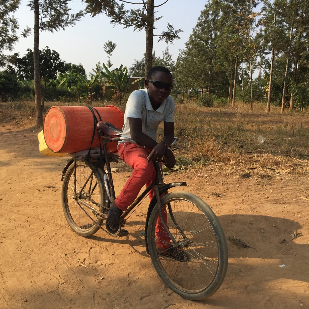 Water Delivery Boy, Mayange