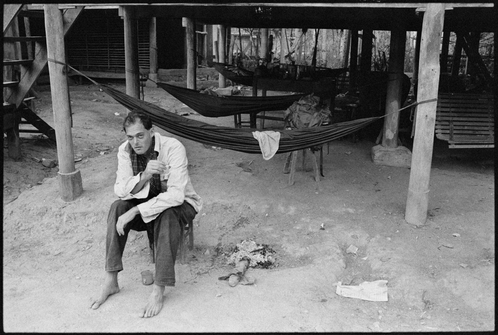 Nate, not happy, somewhere in Cambodia with the KPNLF
