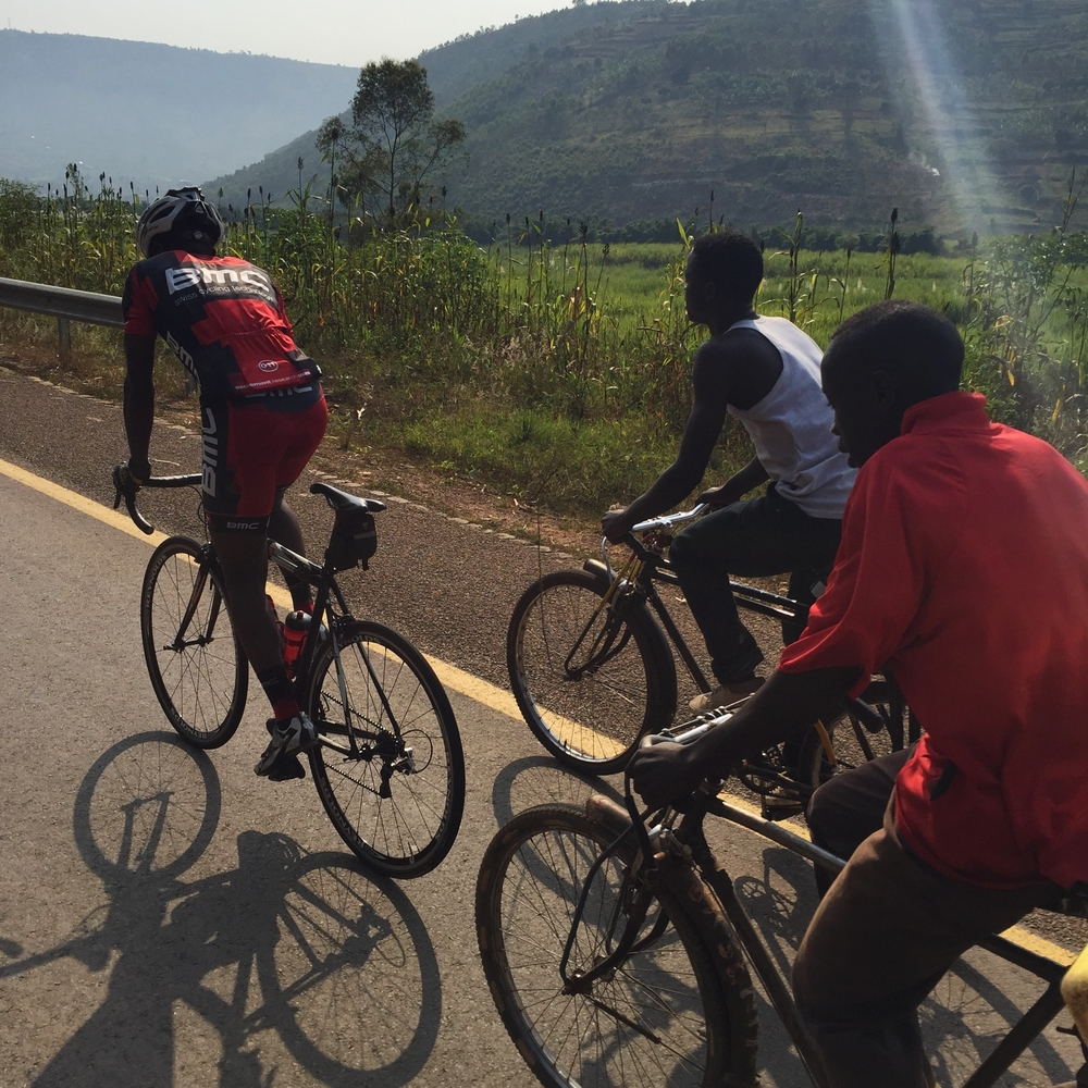 Rwandan National cycling Team