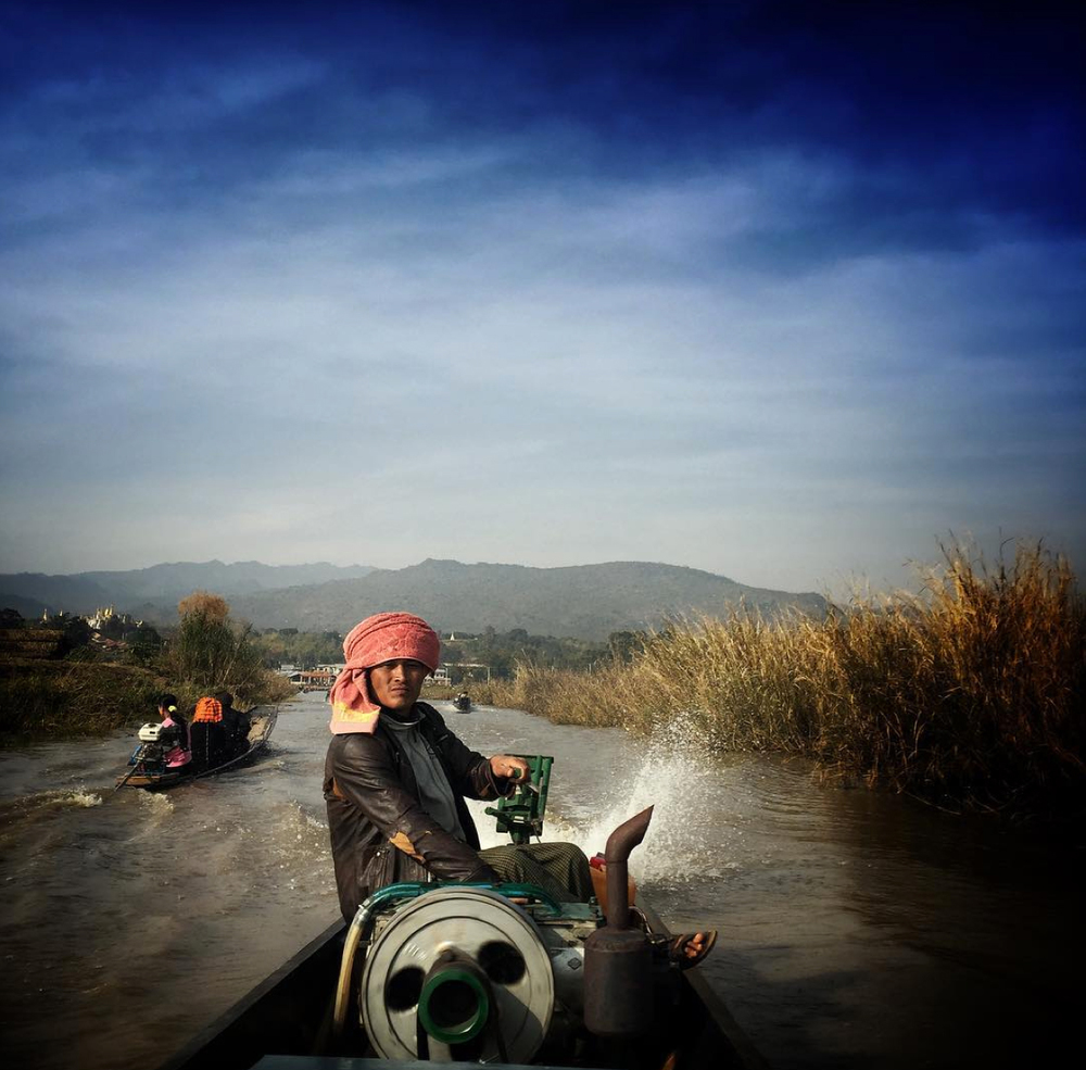 My friend Soe, boatman and philosopher, Inle Lake, Myanmar.