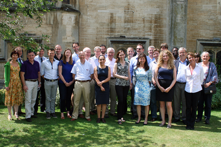 Participants at the transatlantic workshop in Oxford.