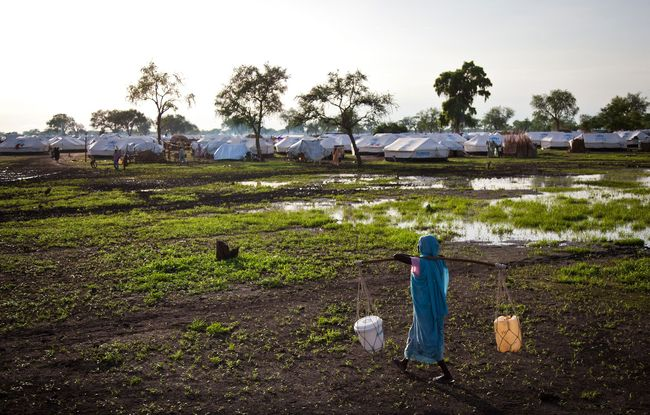 In South Sudan, renewed violence and emergency response - Jamam refugee camp - Photo courtesy of Reuters/Adriane Ohanesia