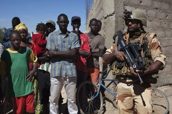 Visits to detainees and protection work now underway in Mali - Diabaly, Jan. 21 - Photo courtesy of Reuters/Joe Penney