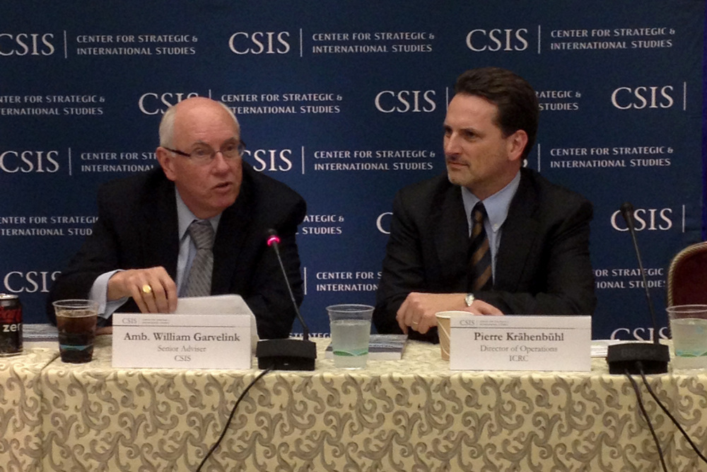 Discussing the future of humanitarian action at CSIS