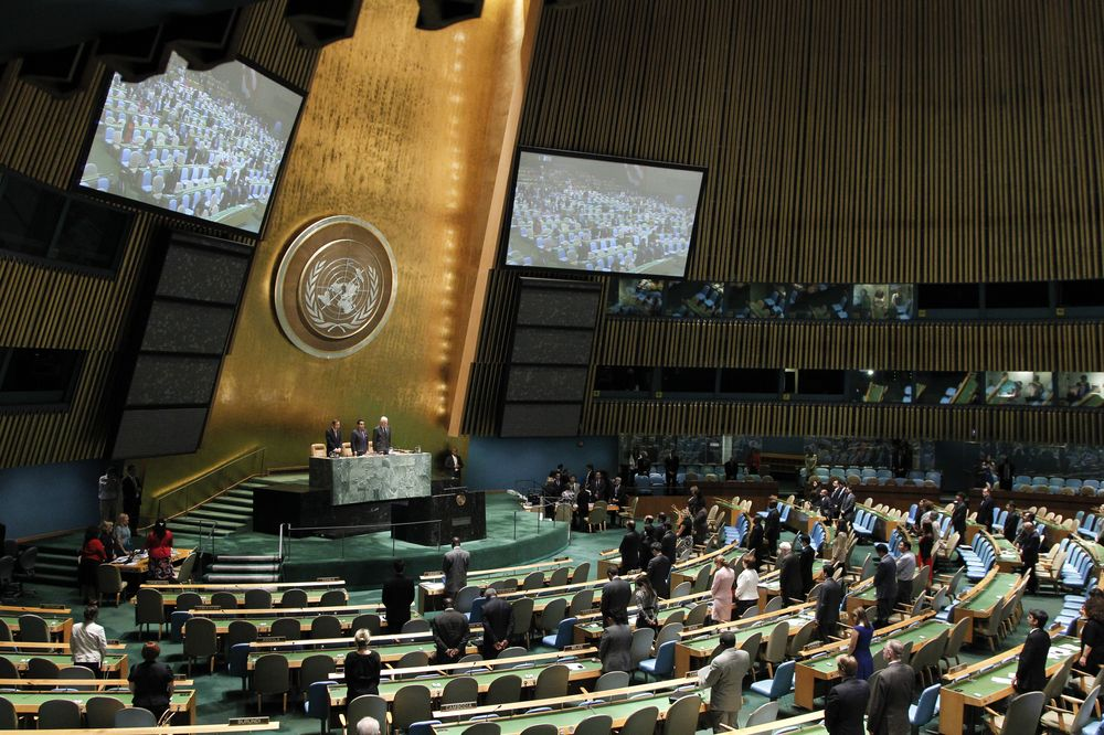 Multiple bilateralism and the 67th UN General Assembly - Photo courtesy of UN Photo/Rick Bajornas